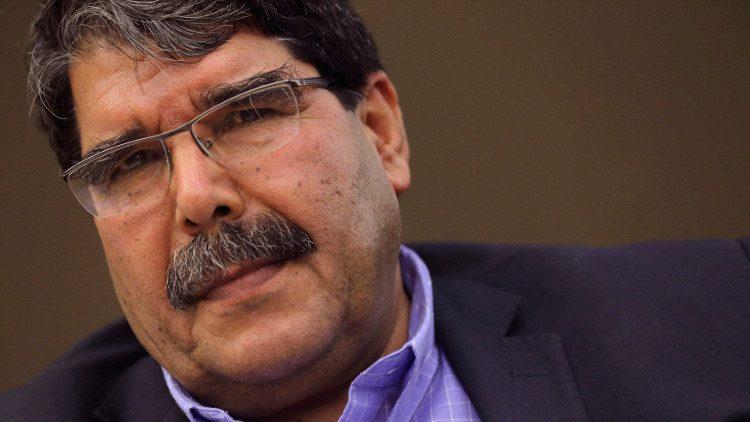 صالح مسلم، الرئيس المشترك لـ حزب الاتحاد الديمقراطي (PYD)