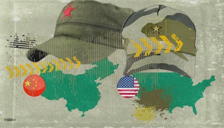 المارد الأحمر (الصين) والعم سام (أمريكا) عسكريا