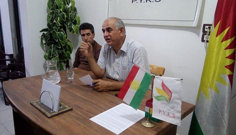 سليمان أوسو عضو اللجنة السياسية لحزب يكيتي الكردي