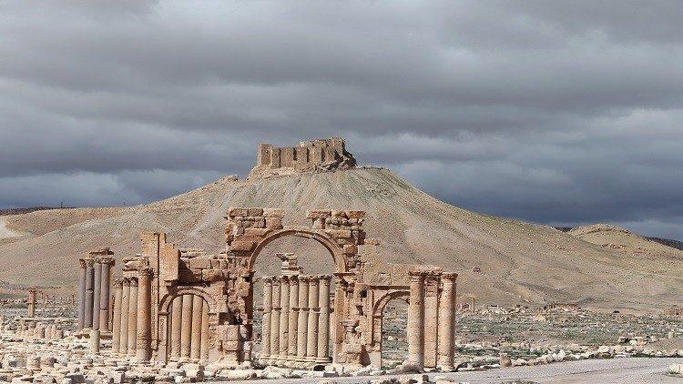 مدينة تدمر الاثرية