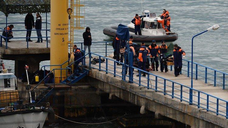 عمليات البحث والإنقاذ في منطقة حادث الطائرة المنكوبة