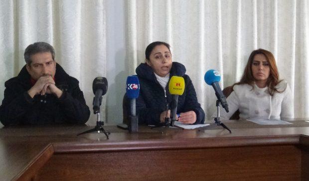 مجلس العدالة  الاجتماعية يعقد مؤتمراً صحفياً بخصوص عبد الحميد حيدو