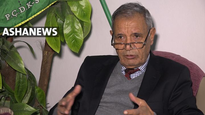 صالح كدو، سكرتير الحزب اليساري الديمقراطي الكردي – سوريا