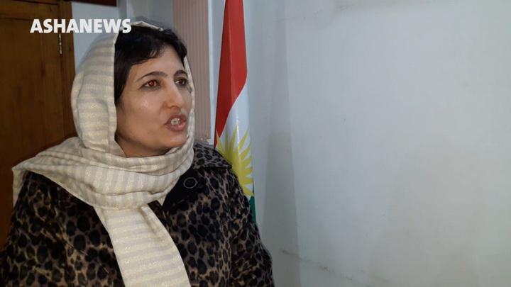 فصلة يوسف نائبة رئيس المجلس الوطني الكردي