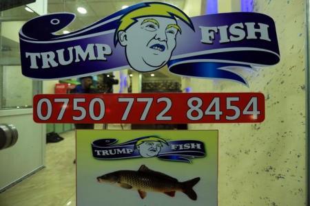 "مطعم ""ترامب فيش"" في دهوك"