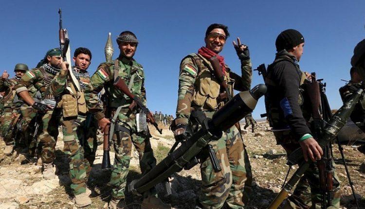 عناصر من قوات بيشمركة روج آفا