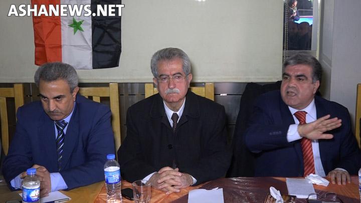 """""""أحمد سليمان"""" القيادي في الحزب الديمقراطي التقدمي الكردي في سوريا"""