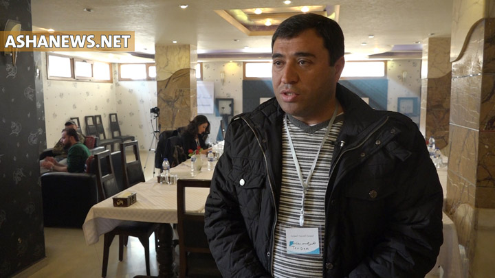 همبر حسن عضو العلاقات في حركة المجتمع الديمقراطي TEVDEM