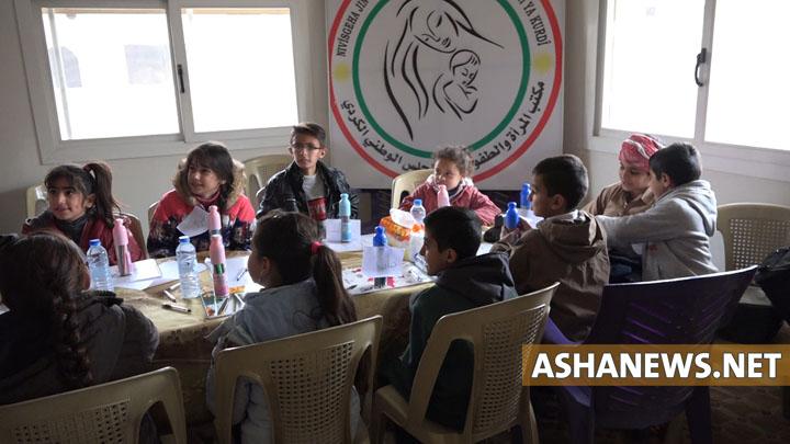 نشاط مكتب المرأة والطفولة في المجلس الوطني الكردي