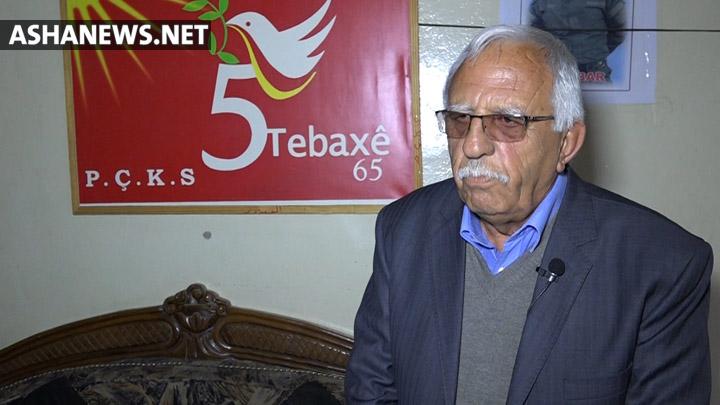 محمد موسي سكرتير الحزب اليسار الكردي في سوريا