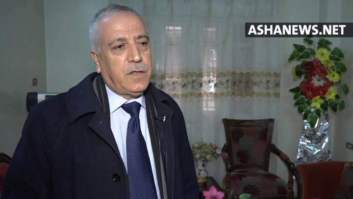 نصرالدين إبراهيم سكرتير الحزب الديمقراطي الكردي في سوريا (البارتي)