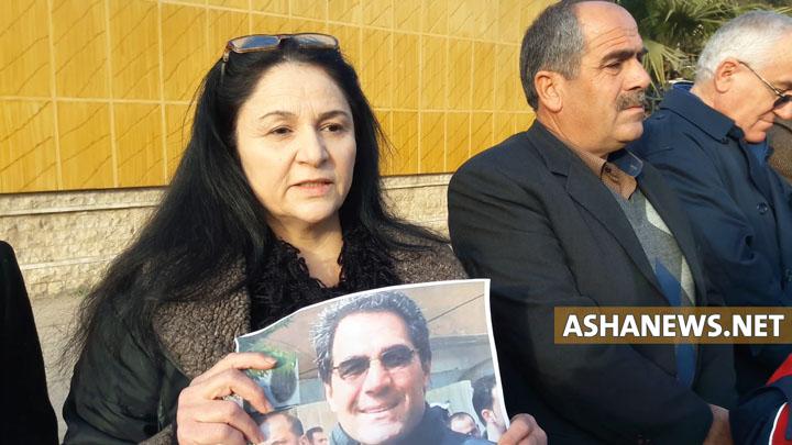 أوميد يوسف زوجة عبدالله كدو القيادي في حزب يكيتي الكُردي