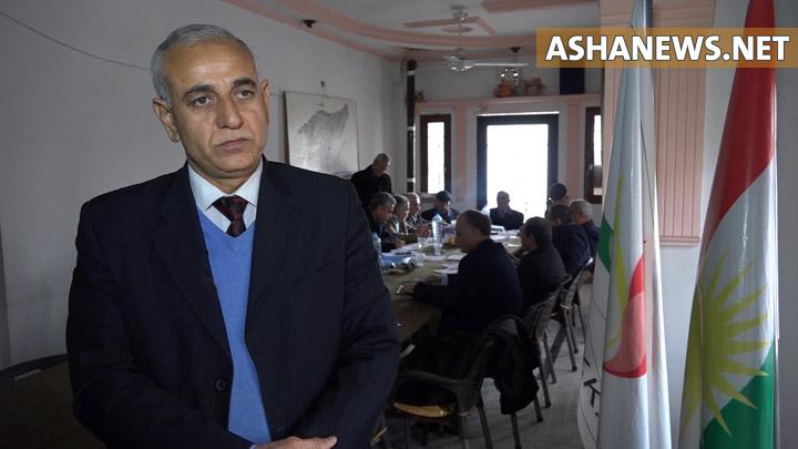سليمان أوسو عضو المكتب السياسي في حزب يكيتي الكُردي