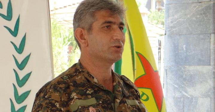 ريدور خليل, الناطق الرسمي باسم وحدات حماية الشعب