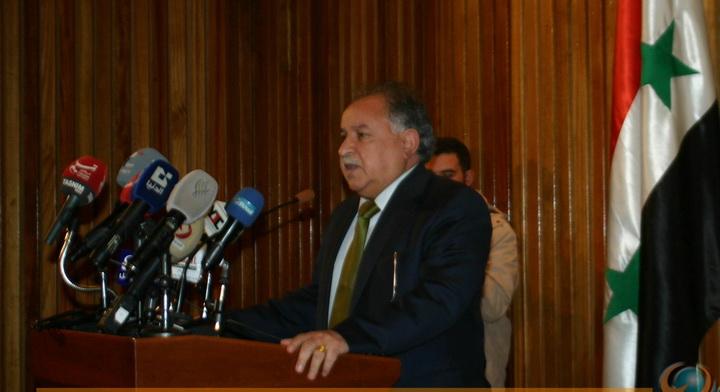 خلف المفتاح عضو القيادة القطرية لحزب البعث العربي الاشتراكي