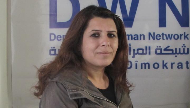 نارين متيني رئيسة مكتب العلاقات العامة لتيار المستقبل الكردي في سوريا