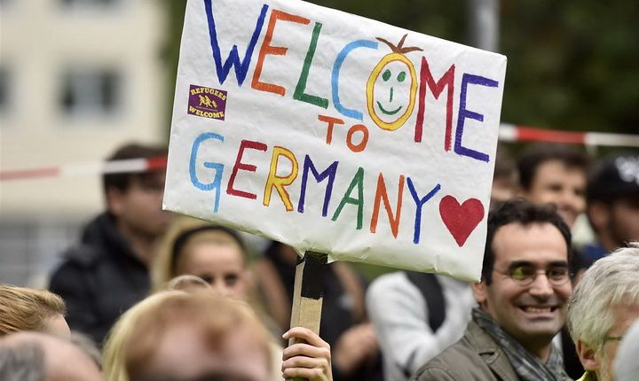 ألمانيا ترحب بالاجئين السوريين