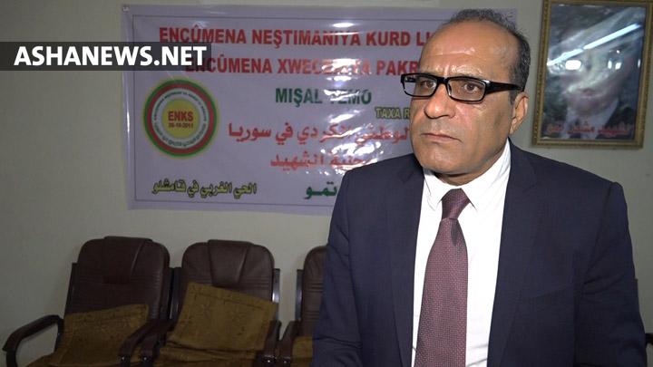 زردشت محمد القيادي في حزب الوحدة الديمقراطي في سوريا