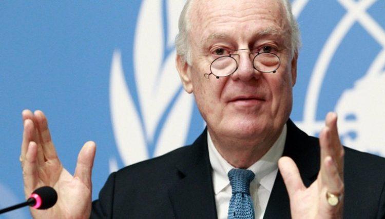 المبعوث الأممي إلى سورية، ستيفان دي ميستورا