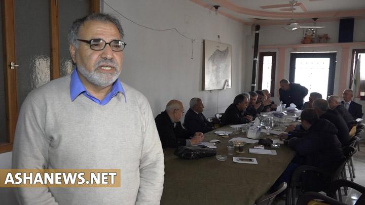 انور ناسو عضو اللجنة السياسية لحزب يكيتي الكردي في سوريا