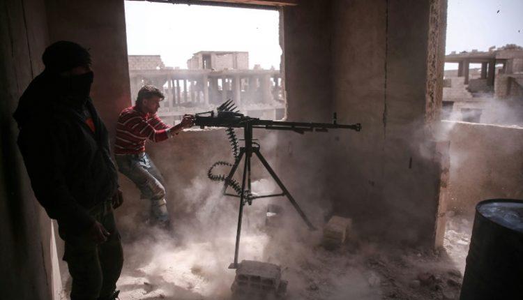 مقاتلو المعارضة السورية شرق دمشق