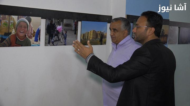 المعرض تضمن صوراً لـ 14 مصوراً محلياً