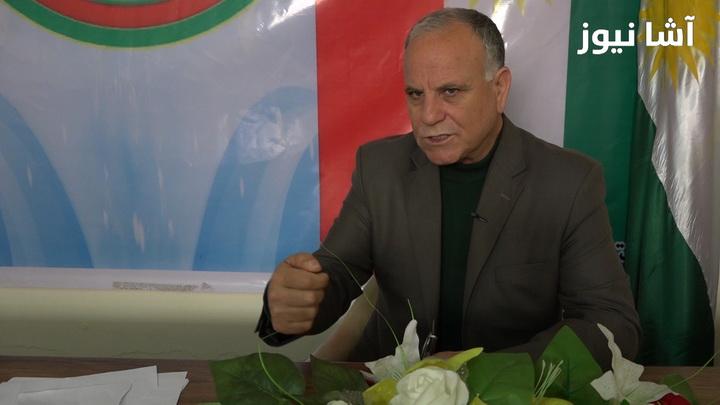 عضو الأمانة العامة للمجلس الوطني الكردي، عبد الصمد خلف برو