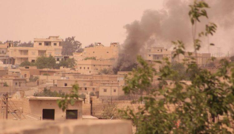 قوات سوريا الديمقراطية تسيطر على الحي الاول والثاني والثالث في الطبقة