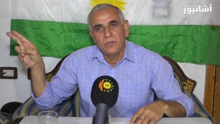سليمان أوسو، عضو المكتب السياسي في حزب يكيتي الكردي