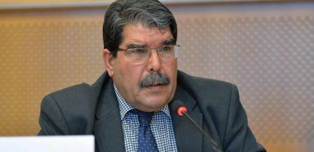 """الرئيس المشترك لحزب الاتحاد الديمقراطي """"PYD"""" صالح مسلم"""