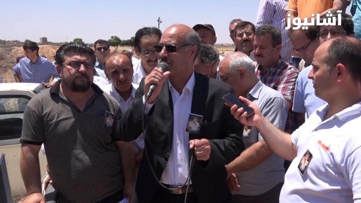 عبدالسلام أحمد، قيادي في حركة المجتمع الديمقراطي (TEVDEM)