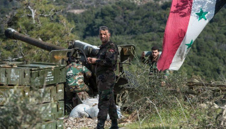 جنود من الجيش العربي السوري