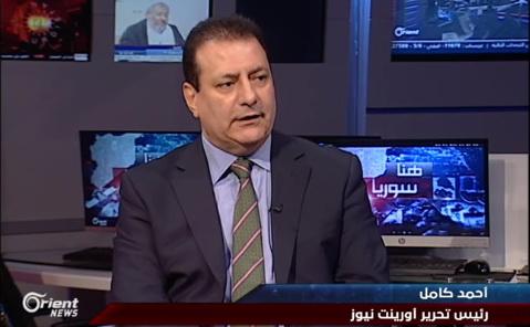 أحمد كامل، رئيس تحرير أورينت نيوز