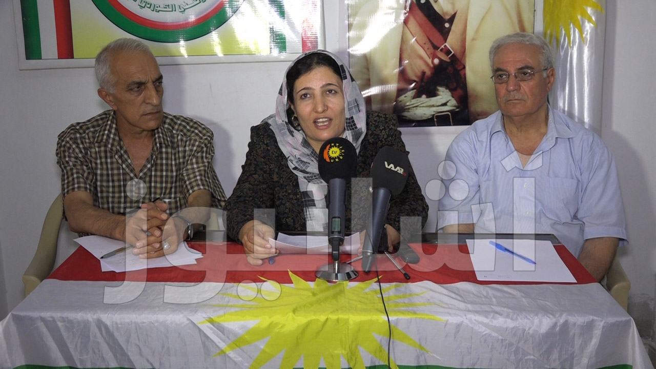 مؤتمر صحفي للمجلس الوطني الكردي في قامشلو