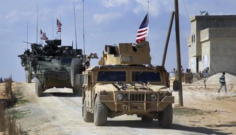 مدرعات عسكرية أميريكية في مناطق الادارة الذاتية