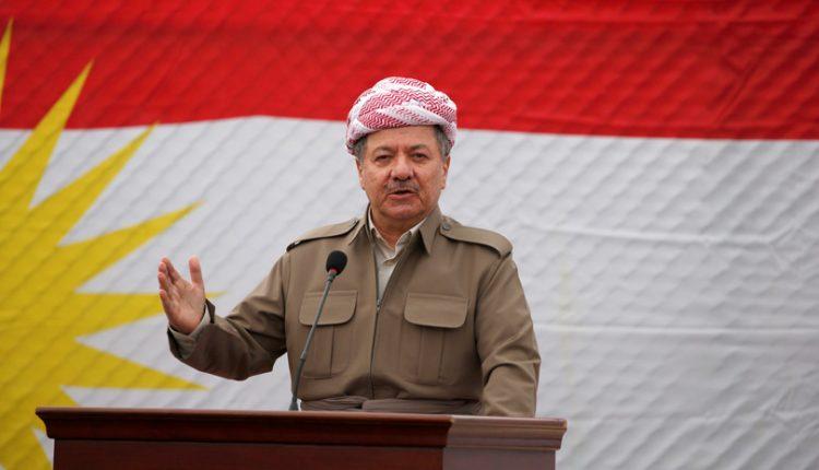 رئيس إقليم كردستان، مسعود بارزاني