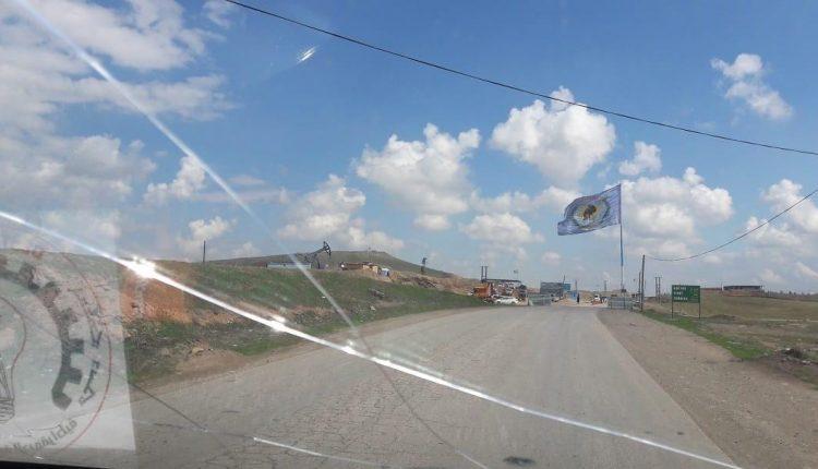 حاجز لقوات الآساييش التابعة للإدارة الذاتية في سوريا