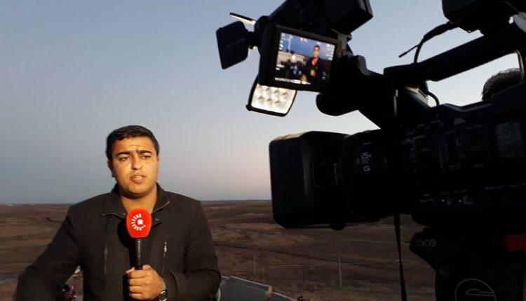 مراسل شبكة ‹روداوو› الإعلامية بيشوا بهلوي