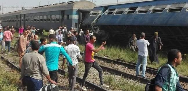 تصادم قطارين في مصر يسفر عن 28 قتيل وعشرات الجرحى