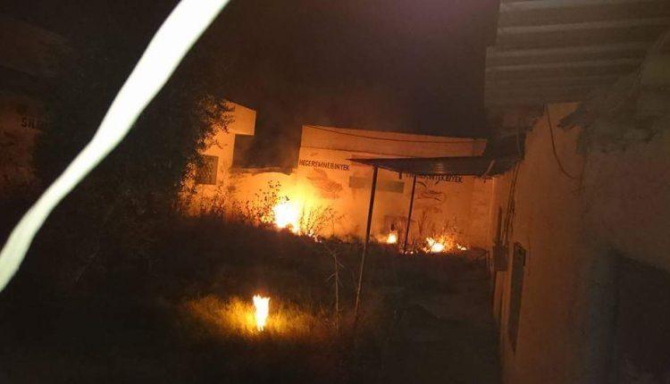 محاولة حرق مكتب سليمان آدي لحزب يكيتي في قامشلو