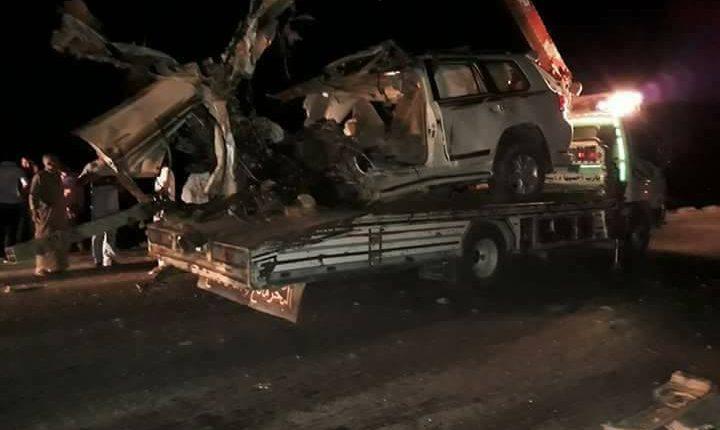 حادث مروري بين قامشلو وتل تمر