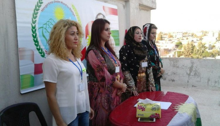 من المؤتمر الأخير للاتحاد النسائي الكردي