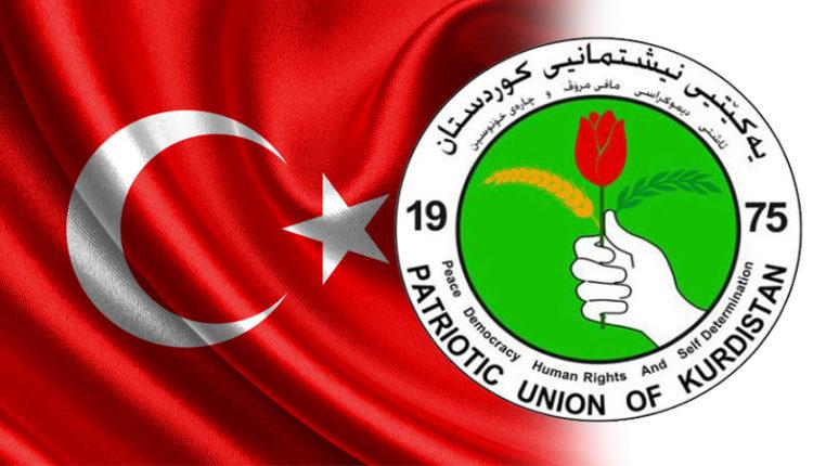 الاتحاد الوطني الكردستاني – تركيا