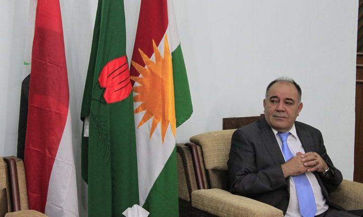 سعدي أحمد بيره، عضو المكتب السياسي في الاتحاد الوطني الكردستاني