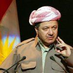 الزعيم الكردي مسعود بارزاني: لن نستسلم لأحد والانتخابات أفضل حل لأزمة كردستان