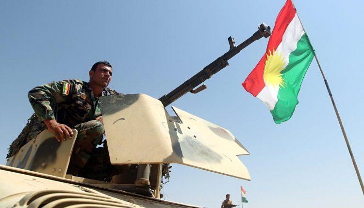 عناصر من قوات البيشمركة الكردية
