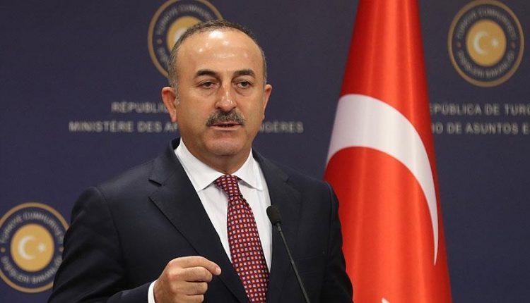 مولود جاويش أوغلو، وزير الخارجية التركي