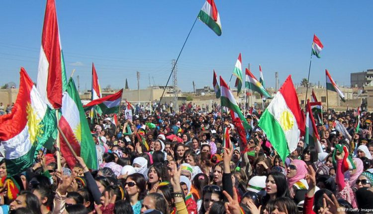 وقفة لأنصار المجلس الوطني الكردي – أرشيف