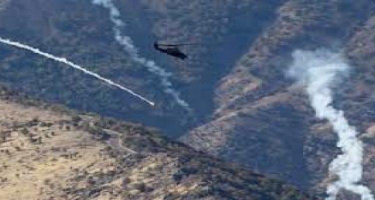 طائرات حربية تركية تقصف مواقع للعمال الكردستاني في جبل قنديل