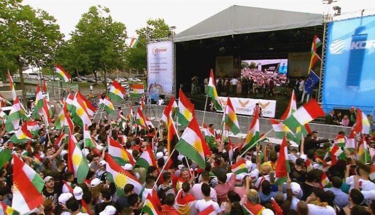 """مهرجان """"استقلال كردستان"""" في كولن الألمانية"""
